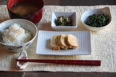Japanese Breakfast Menu 1 | @FoodMeditations Time | Scoop.it