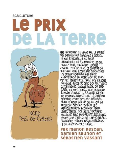 Le prix de la terre - La Revue Dessinée | Souveraineté Alimentaire | Scoop.it