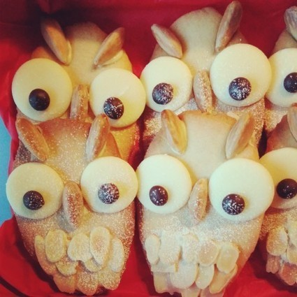 Owl Biscuits: Baking with the Kids - ONIN London | chef | Scoop.it