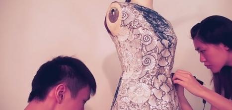 Un studio réalise des robes sur mesure grâce à un stylo qui permet de dessiner en 3D | Technologies & web - Trouvez votre formation sur www.nextformation.com | Scoop.it