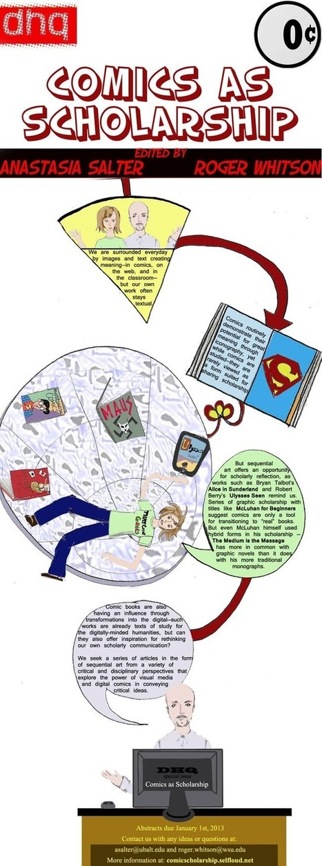 Comics as Scholarship | Pop Culture in Education | Scoop.it