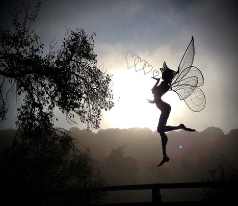 Fantasy Wire Fairies Sculptures | inspiration photos | picturescollections | Scoop.it