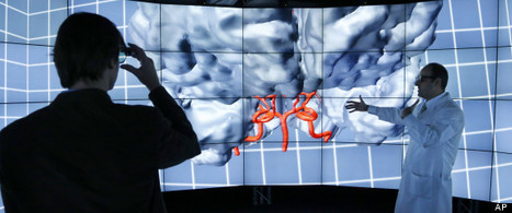 CAVE2 - Using 3-D Worlds To Visualize Big Data On Room-Sized Screen | Amazing Science | Scoop.it