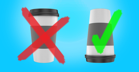 A Disposable Coffee Cup Has Inspired An Indispensable Idea | Pensar | Scoop.it