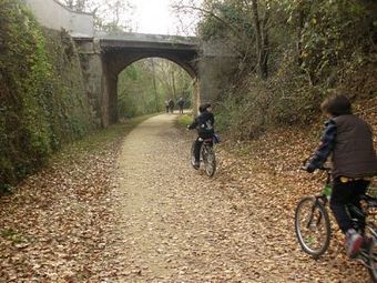 Valdelsa: Track cycling Colle-Poggibonsi on the old railway | Italia Mia | Scoop.it