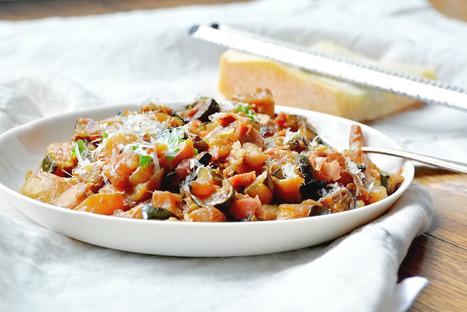 Zucchine al prosciutto di Livia- braised zucchini with prosciutto | Le Marche and Food | Scoop.it