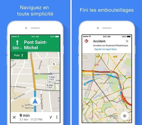 Google Maps affiche la voie à prendre sur les autoroutes européennes | Apps for business | Scoop.it