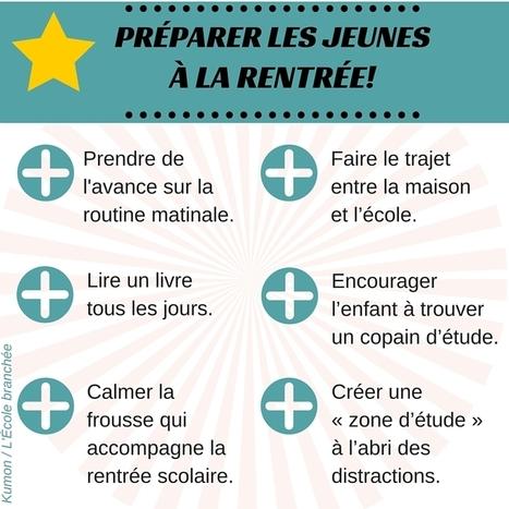 Quelques conseils pour préparer les jeunes à la rentrée | POURQUOI PAS... EN FRANÇAIS ? | Scoop.it