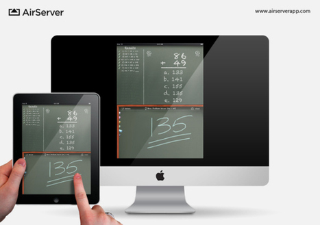 An Educator's Guide to AirPlay on iPads and Macs | ipadinschool | Scoop.it