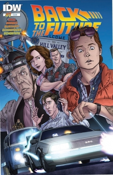 Comic Review: Back To The Future #1 | Books Related | Scoop.it
