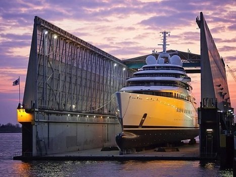 Nauta Yachts comments on their design for superyacht Azzam - Superyacht Times | Water Sports and Boats | Scoop.it