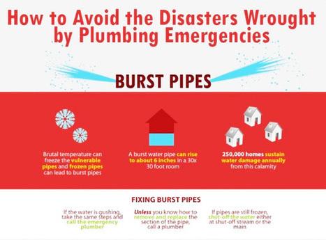 Plumbing Emergencies: An Infographic on Plumbing Problems | PCFSCT | DIY Plumbing Tips & Plumbing Infographics | Scoop.it