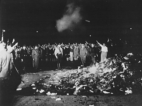 The History Place - World War II in Europe Timeline: May 10, 1933 - Nazis Burn Books in Germany   Nazi Book Burnings   Scoop.it