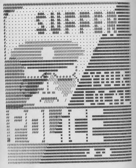 Illustration from teleprinter novel Informed Sources by Willard... | ASCII Art | Scoop.it