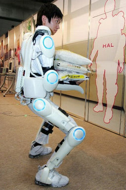 Real Life Gundam: Japanese Robot Suit (HAL) | architecture, planning, education, trending | Scoop.it