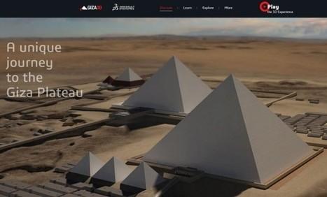 Sitio interactivo en 3D para visitar las pirámides de Giza | Boletín Biblioteca Ciencias de la Educación. Universidad de Sevilla | Scoop.it