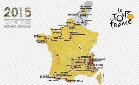Beaucoup de montagne et peu de contre-la-montre... le Tour de France 2015 | Revue de presse internet | Scoop.it