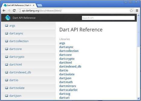 Tutoriel sur Dart : le langage orienté Web de Google | Time to Learn | Scoop.it