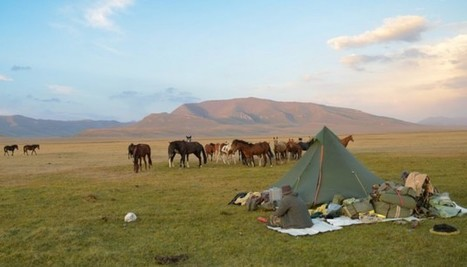 Avec mon père, j'ai parcouru l'Asie centrale à cheval. Ça m'a permis d'avoir mon bac | Cheval et Nature | Scoop.it