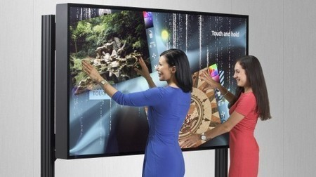 MultiTouch begins taking pre-orders for 84-inch 4K interactive display | GizMag.com | touch screen displays | Scoop.it