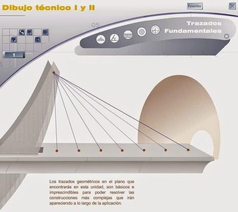 Dibujo Técnico I y II: Recurso interactivo para el aprendizaje de la geometría y el dibujo técnico ~ Juegos gratis y Software Educativo | ARQUITECTURA Y EDUCACIÓN | Scoop.it