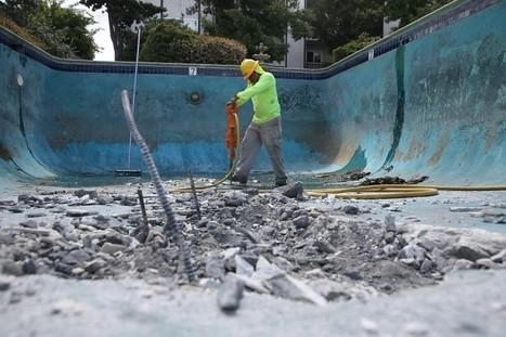 Un nouveau métier est né en Californie : reboucheur de piscine | Immobilier | Scoop.it