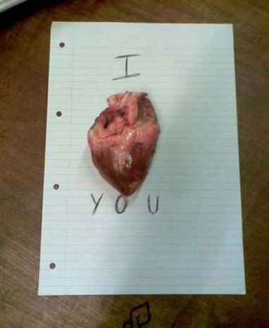 "13 Creepy Ways To Say ""I Love You"" | Strange days indeed... | Scoop.it"
