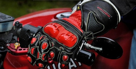 Leather motorcycle gloves for safe riding | Tested Motorcycle Gloves | Scoop.it