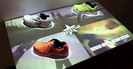 Digitized Shoe Displays : Shoe Display | Digital Retail Thoughts in English | Scoop.it
