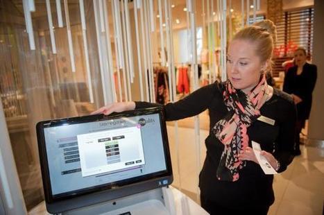 Innovation retail : La cabine d'essayage du futur chez Bloomingdale's | Innovation retail | Scoop.it