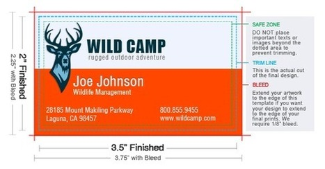 """Business Card Size: 1.75x3.5"""", 2x2"""", 2x3.5"""" & Custom - UPrinting.com   The Most Comprehensive Business Card Design Guide   Scoop.it"""