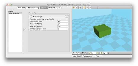 CURA - Software para Impresión 3D - Sprinter Vs Marlin - Arduteka | aloon | Scoop.it
