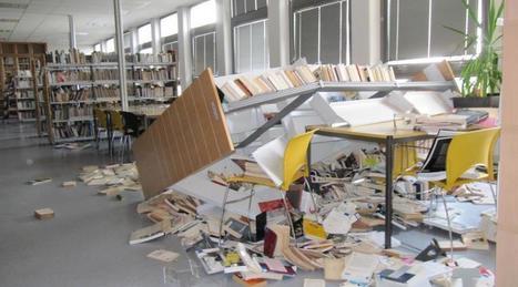 Loi Travail. Dégradations importantes à l'Université de Caen   Trucs de bibliothécaires   Scoop.it