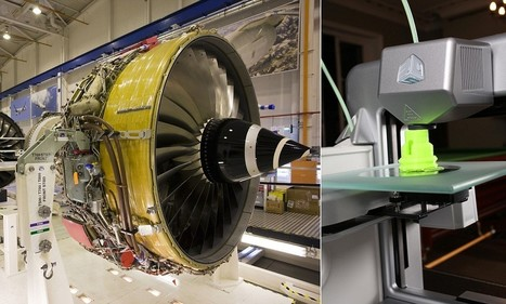 Rolls-Royce says it could use 3D printers to make JET ENGINES | ICT | Scoop.it