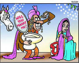 Pose with a toilet to get hitched in MP district | Quite Interesting News | Scoop.it
