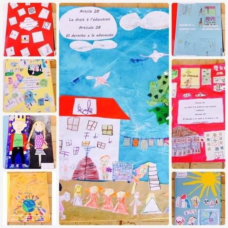 Les droits de l'enfant illustrés par les enfants du Lycée Français MLF de Palma ! | Lycée Français MLF de Palma 2013-2014 | Scoop.it