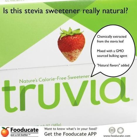 Warning: Stevia Sweeteners May NOT Be as Natural as You Think | Fooducate | Go Sugar Free Now | Scoop.it