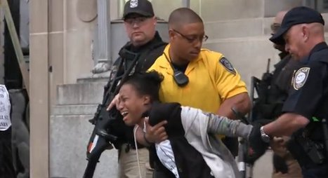 Peaceful Protester Tasered Outside DOJ (VIDEO) | civil disobedience | Scoop.it