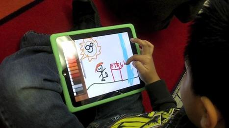 Writer's Workshop poetry lesson with the iPad | iPads in the Elementary Classroom | Scoop.it