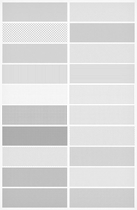 20 Adet Pixel Pattern (Piksel Desen) | Gafolik.com | www.gafolik.com | Scoop.it