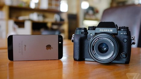 How does the iPhone hold up against a serious camera? - The Verge | Iphone Apps | Scoop.it