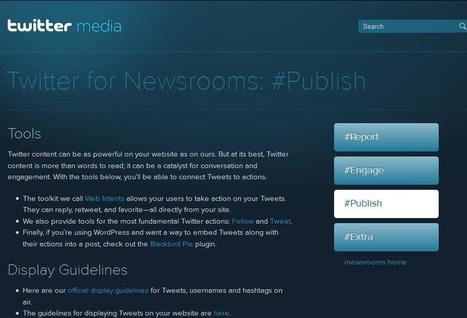 Twitter for Newsrooms: Publishing on Twitter | Social media kitbag | Scoop.it