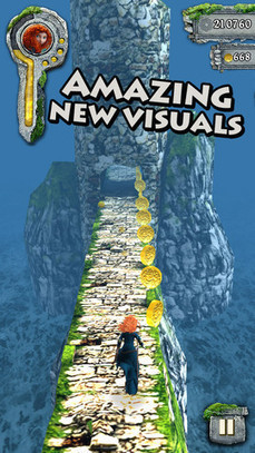 One of the Best iPhone and iPad Game Apps Temple Run Brave | Best iPhone Apps and iPad Apps | Scoop.it