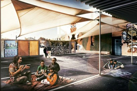 Outdoor Space Is A Parking Lot, Classroom & Movie Theater [My Ideal City] - PSFK | Brooklyn By Design | Scoop.it