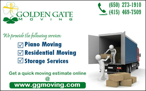 Hiring a San Francisco Mover | Golden Gate Moving Services | Scoop.it