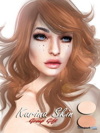 Karina Skin 2 Tones With Mesh Head Appliers 1L Promo Gift by E.Vary | Teleport Hub - Second Life Freebies | Second Life Freebies | Scoop.it