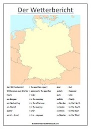 German Weather Forecast - German Teacher Resources | German learning resources and ideas | Scoop.it