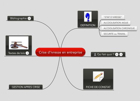 Crise d'ivresse en entreprise - MindMeister Mind Map | Medic'All Maps | Scoop.it