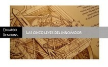 Las Cinco Leyes del Innovador | School libraries  bibliotecas | Scoop.it