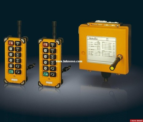 Wireless Industrial Remote Control Switch with Empowered Technology | Resource on Advance Industrial Engineering | Scoop.it